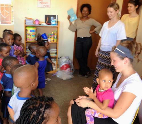 Meso childrens centre in kanye