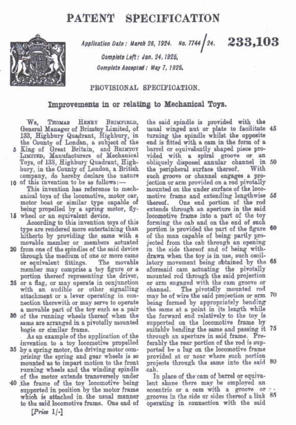 Brimtoy Mech Patent1