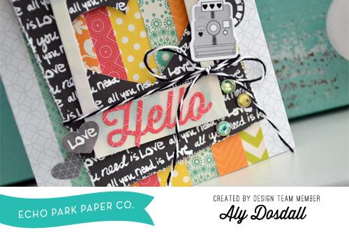 Aly Dosdall Hello Card 3