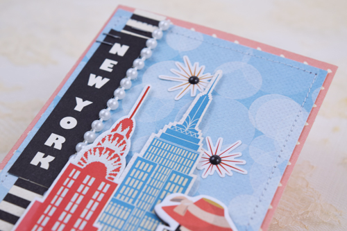 """""""Be Your Own Kind of Beautiful"""" card by Becki Adams with the """"Metropolitan Girl"""" collection by #CartaBellaPaper"""
