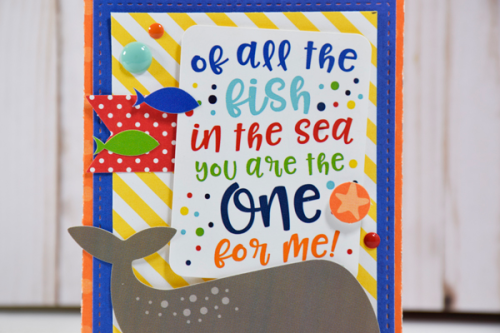 """Gift bag trio by Tya Smith with the """"Under the Sea"""" collection from #EchoParkPaper"""