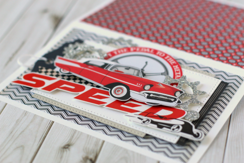 """Speed"" card by Anya Lunchko featuring the ""Cartopia"" collection by #CartaBellaPaper"