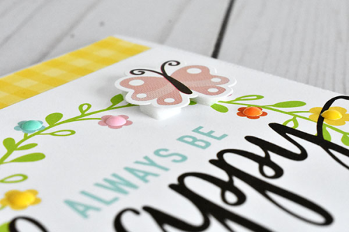 """Quick and Easy Spring cards by Wendy Sue Anderson featuring the """"Hello Spring"""" collection by #EchoParkPaper"""