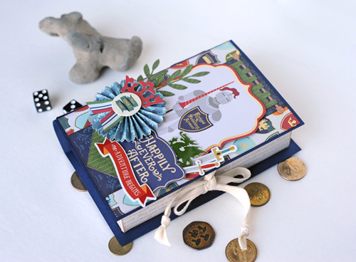 "Happily Ever After Trinket Book Box by Jana Eubank with the ""Once Upon Time Prince"" collection from #EchoParkPaper"