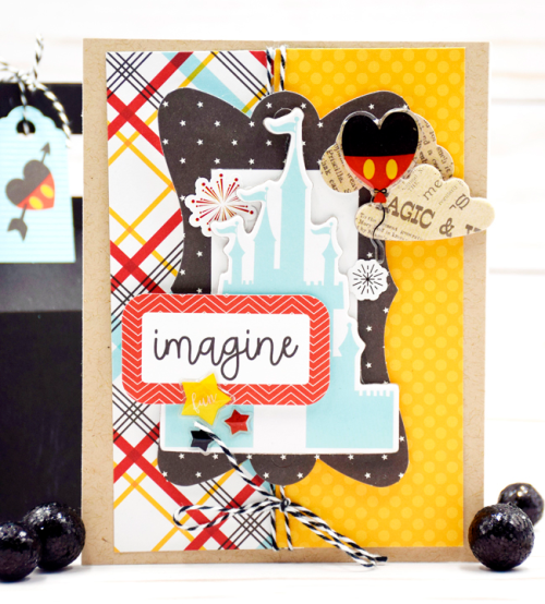 "Imagine Card by Tya Smith with the ""Wish Upon a Star"" collection by #EchoParkPaper"
