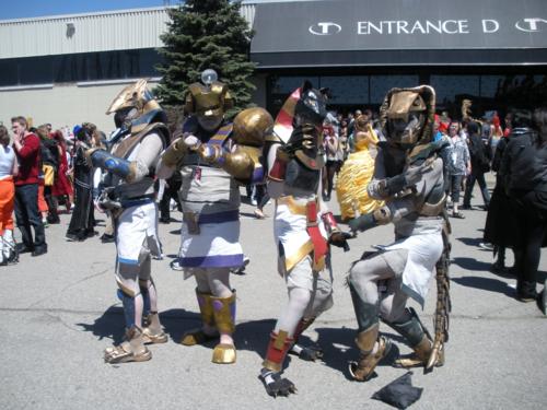 Mummies Alive cosplayers