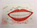 Poster: Rivoli nightclub August 1987 concert calendar