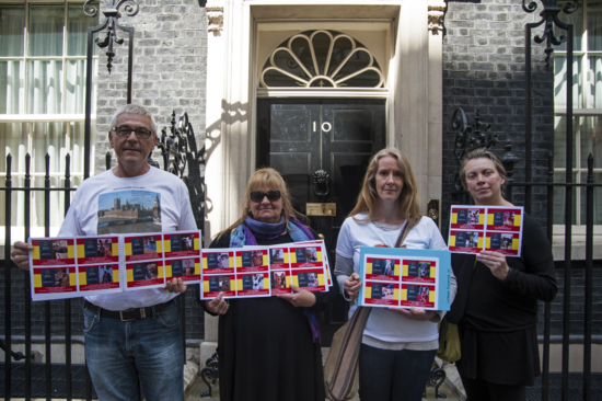 Podenco Petition - Downing Street DSC_3586
