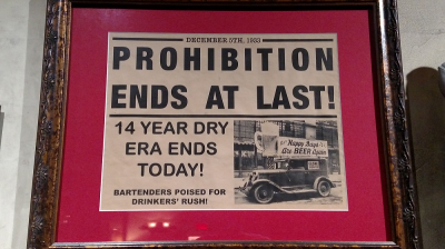 From the American Prohibition Museum, Savannah, Georgia.