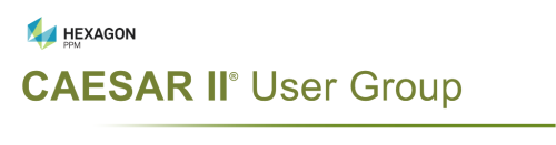 CAESAR II User Group