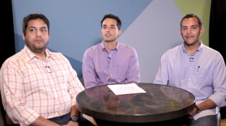Jesus Espiga, Luis Vivas, and Rafael Bombin