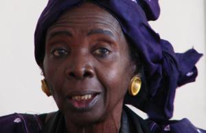 Aminata SowFall. Fuente: wikipedia