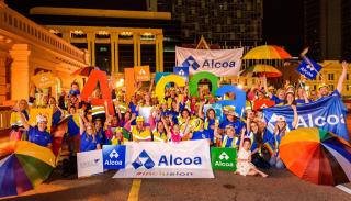 Alcoa employees_Pride Parade 2017_072