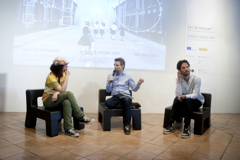 What's going on? The New Dynamics of Public Space, Museum of Architecture and Design, Ljubljana, Slovenia, 2014