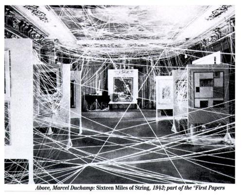 Marcel Duchamp 16 Miles of String