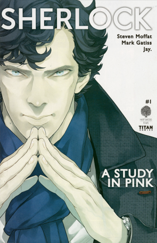 A Study in Pink, adaptation by Jay, copyright Titan Comics and Hartswood Films, 2016