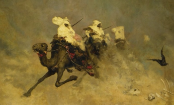 900_Camel cavalry