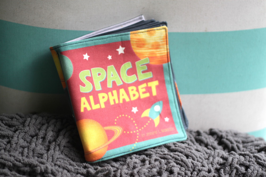 Space Alphabet Book by Jennifer Wambach