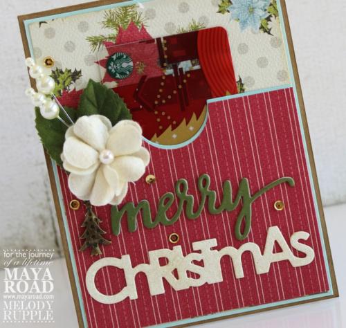 Gift Card Close Up