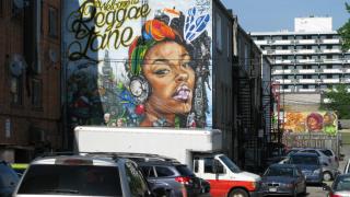 Reggae Lane murals
