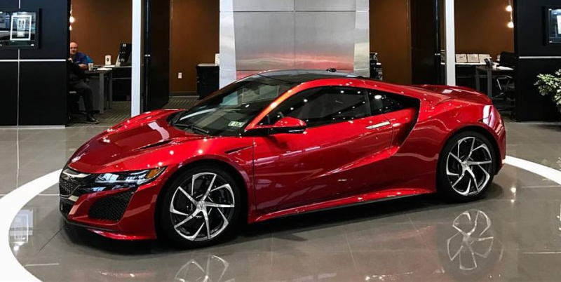 2017 Acura NSX at Smail Acura in Greensburg PA - Smail Acura Blog