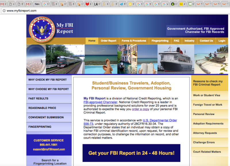 FBI report Screenshot
